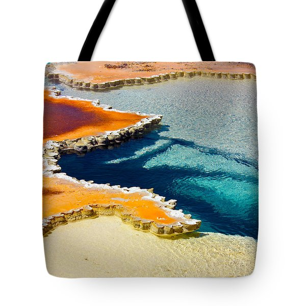 Hot Spring Perspective Tote Bag