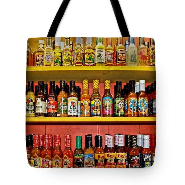Hot Stuff Tote Bag by DJ Florek