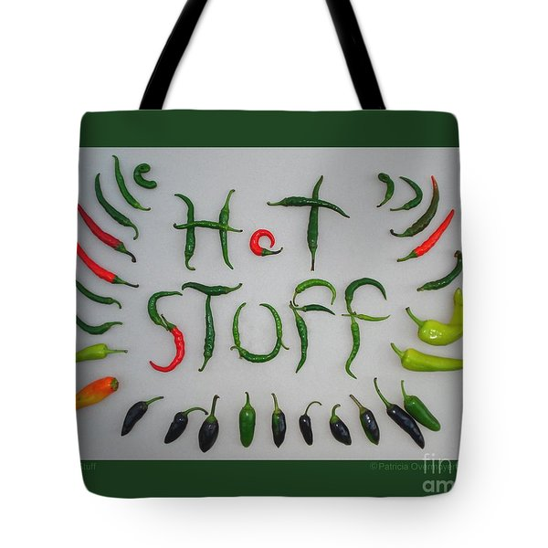 Hot Stuff Tote Bag by Patricia Overmoyer