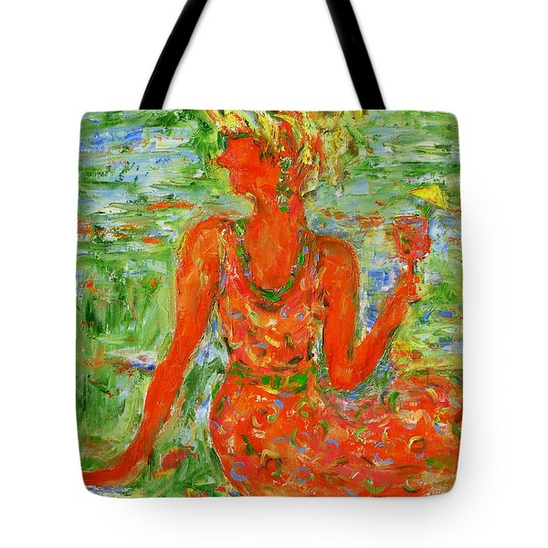 Hot Summer Delight Tote Bag by Xueling Zou