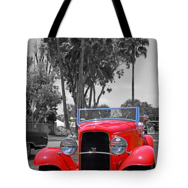 Tote Bag featuring the photograph Hot V8 by Shoal Hollingsworth
