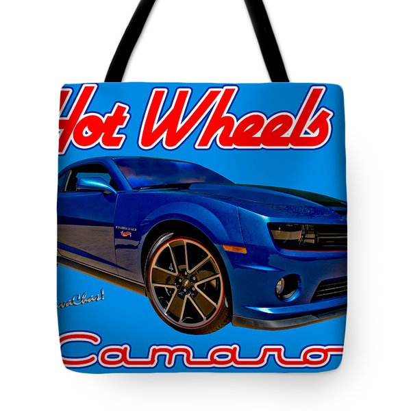 Hot Wheels Camaro Tote Bag