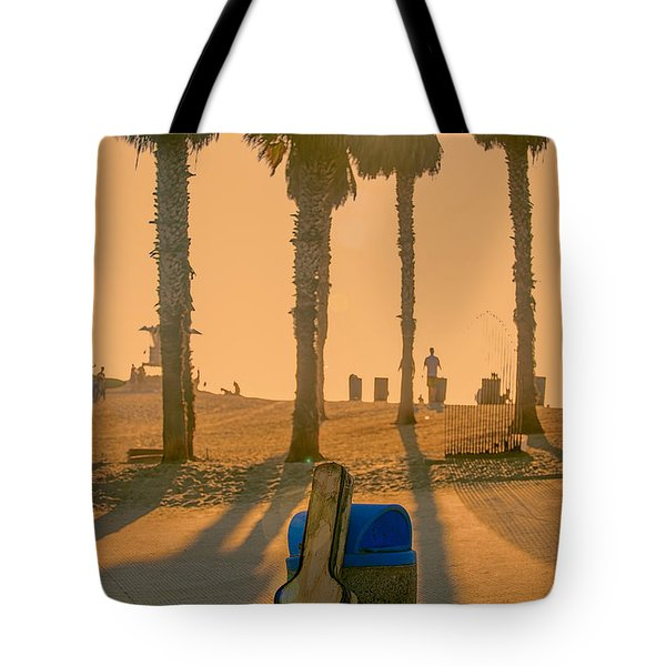 Hotel California Tote Bag by Peter Tellone