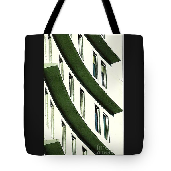 Tote Bag featuring the photograph Hotel Ledges Of A New Orleans Louisiana Hotel by Michael Hoard