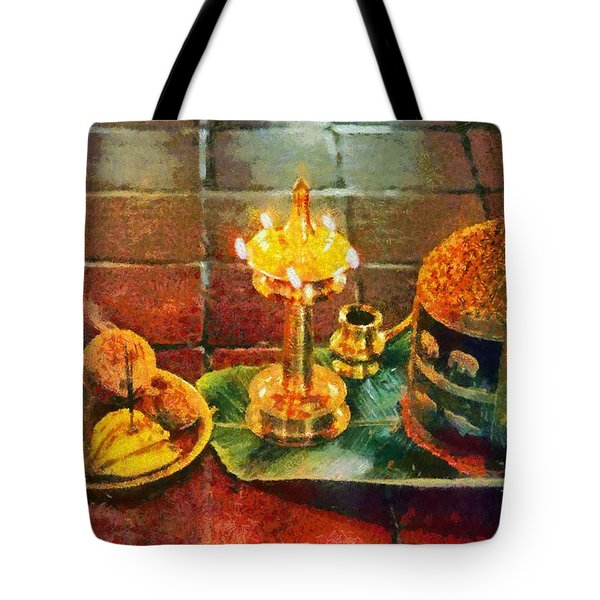 Hotel Welcome In India Tote Bag