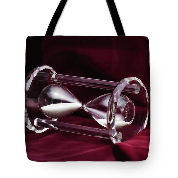 Hourglass Still Life Tote Bag by Tom Mc Nemar