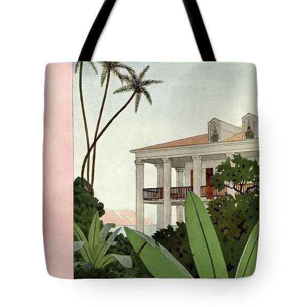 House & Garden Cover Illustration Tote Bag