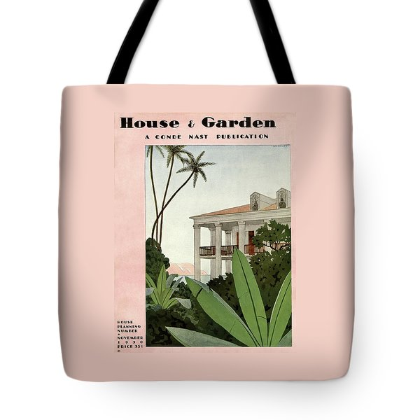House & Garden Cover Illustration Tote Bag