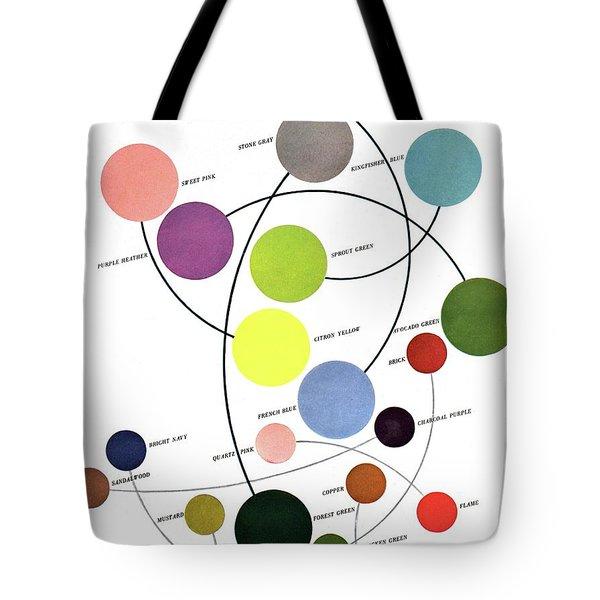An Illustration Of Color Tote Bag