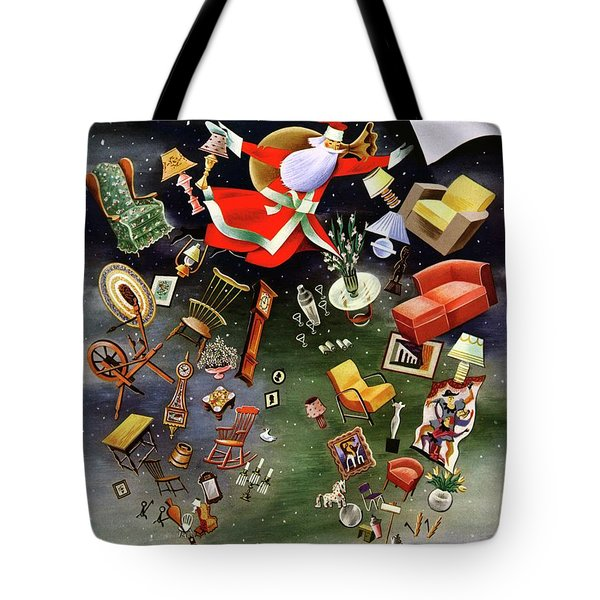 House And Garden Christmas Gifts Cover Tote Bag