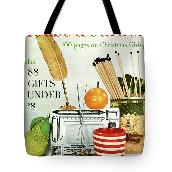 House And Garden Christmas Giving Issue Tote Bag