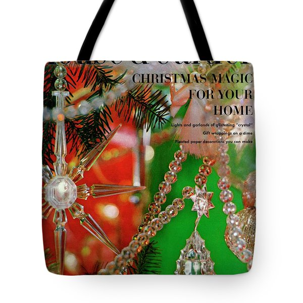 House And Garden Christmas Issue Cover Tote Bag