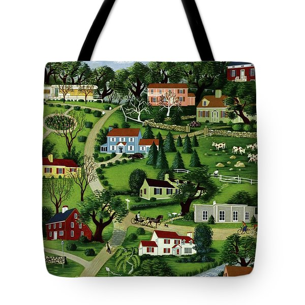 House And Garden Cover Featuring An Illustration Tote Bag