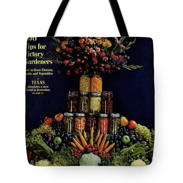 House And Garden Cover Featuring Fruit Tote Bag