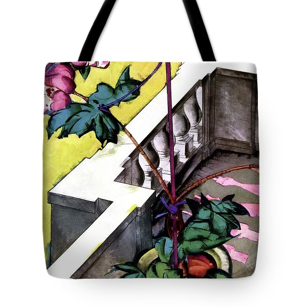 House And Garden Furniture For Gardens Tote Bag