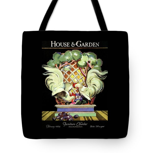 House And Garden Furniture Number Tote Bag