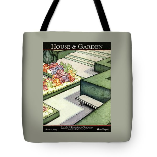 House And Garden Garden Furnishings Number Cover Tote Bag