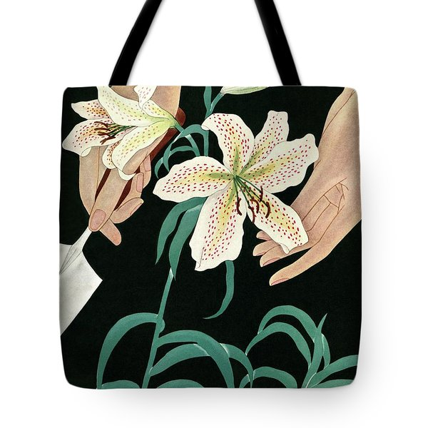 House And Garden Garden Furnishings Number Tote Bag