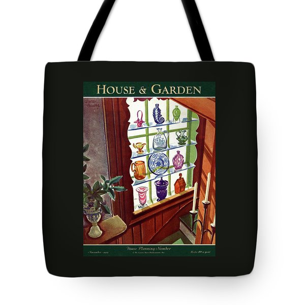 House And Garden House Planning Number Cover Tote Bag