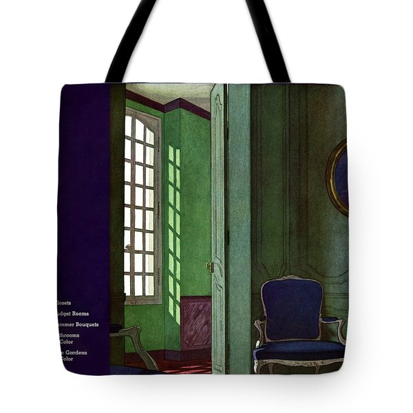 House And Garden Household Equipment Cover Tote Bag