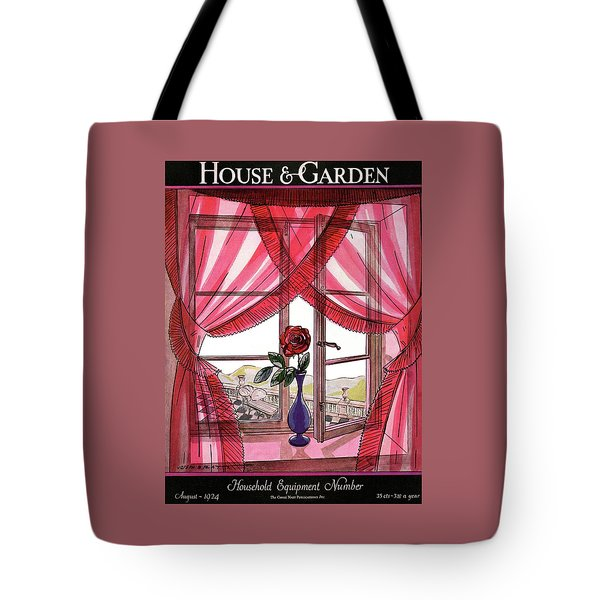 House And Garden Household Equipment Number Tote Bag
