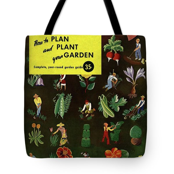 House And Garden How To Plan And Plant Tote Bag
