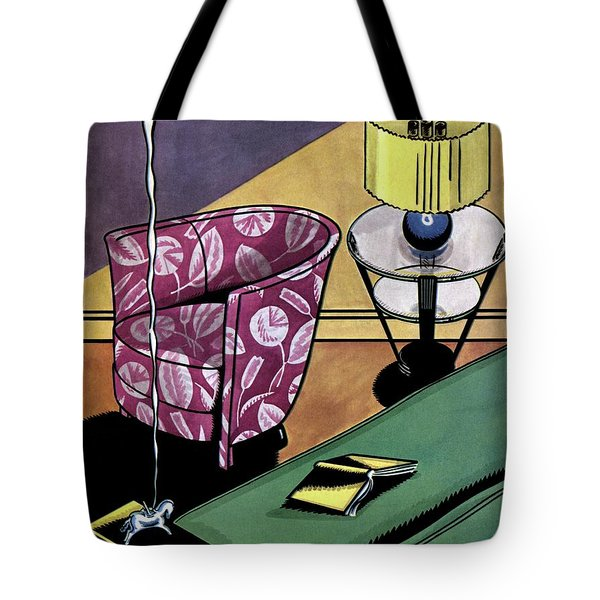 House And Garden Interior Decorating Number Tote Bag