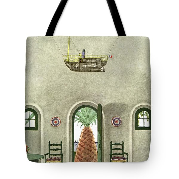 House And Garden Interior Decoration Number Cover Tote Bag