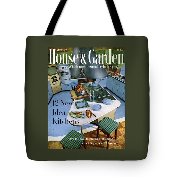House And Garden Kitchen Ideas Issue Tote Bag