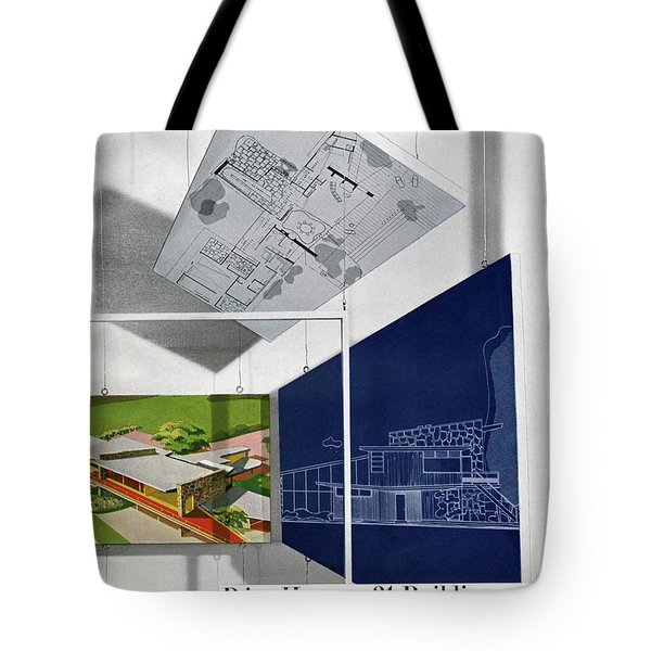 House And Garden Prize House Cover Tote Bag