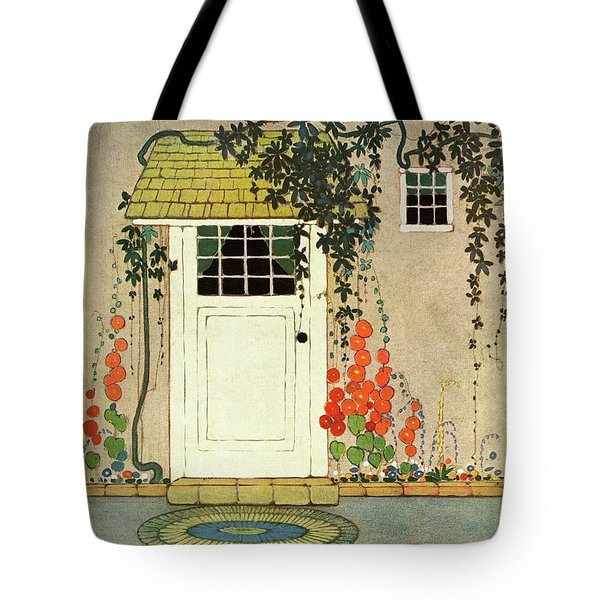 House And Garden Small House Number Cover Tote Bag