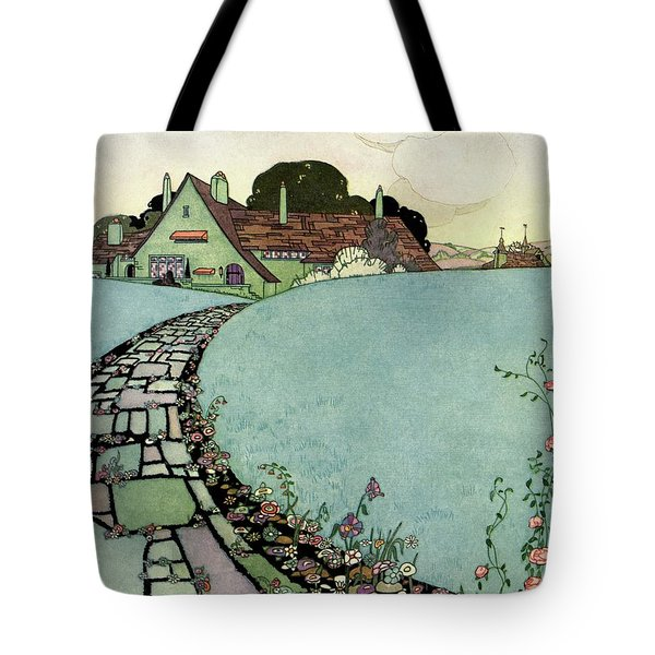 House And Garden Spring Garden Guide Tote Bag