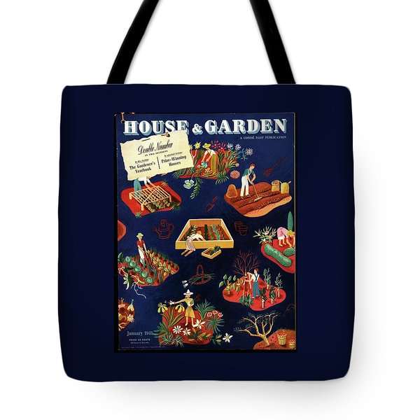 House And Garden The Gardener's Yearbook Cover Tote Bag