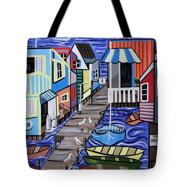 House Boats For Sale Tote Bag by Anthony Falbo