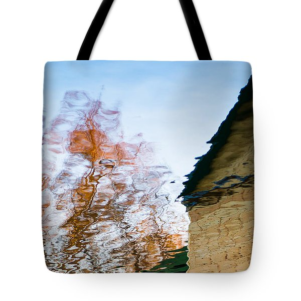 House By The Lake Tote Bag by Alexander Senin
