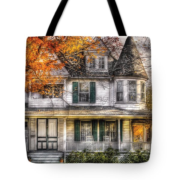 House - Classic Victorian Tote Bag by Mike Savad