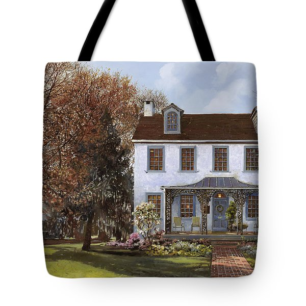 house Du Portail  Tote Bag by Guido Borelli
