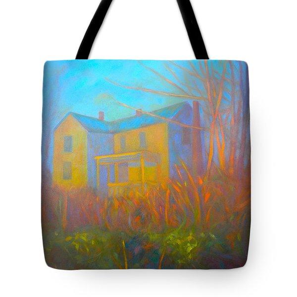 House In Blacksburg Tote Bag by Kendall Kessler