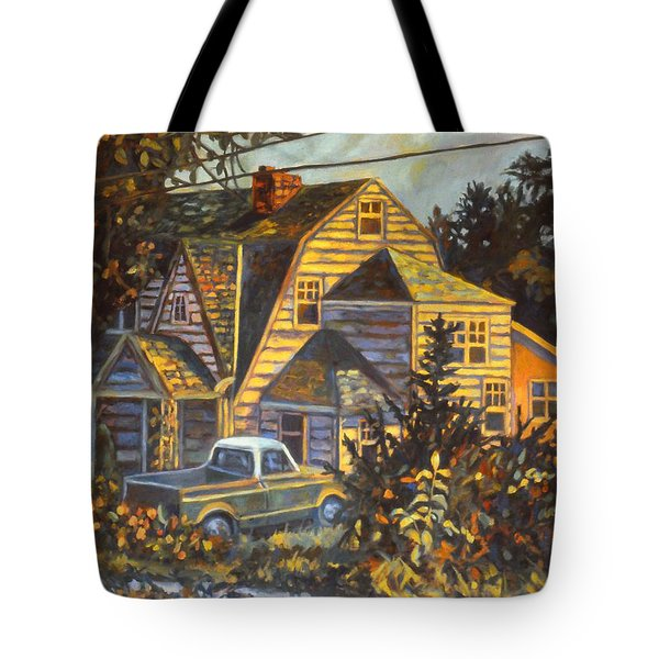House In Christiansburg Tote Bag