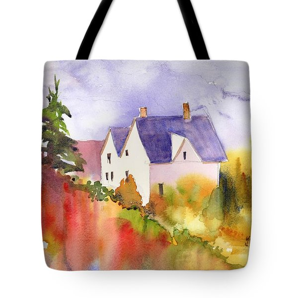 House In The Country Tote Bag
