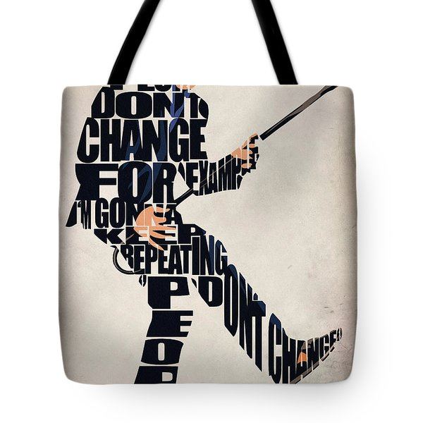 House Md - Dr. Gregory House Tote Bag by Ayse Deniz