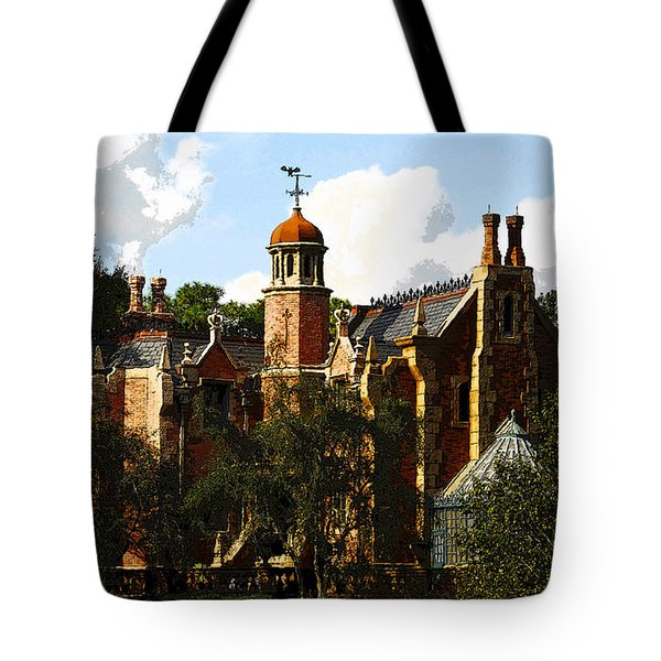 House Of 999 Ghosts Tote Bag by David Lee Thompson