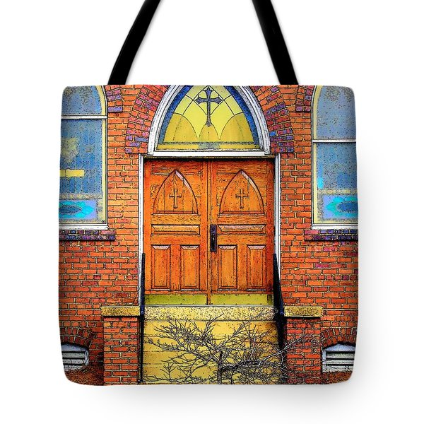 House Of God Tote Bag