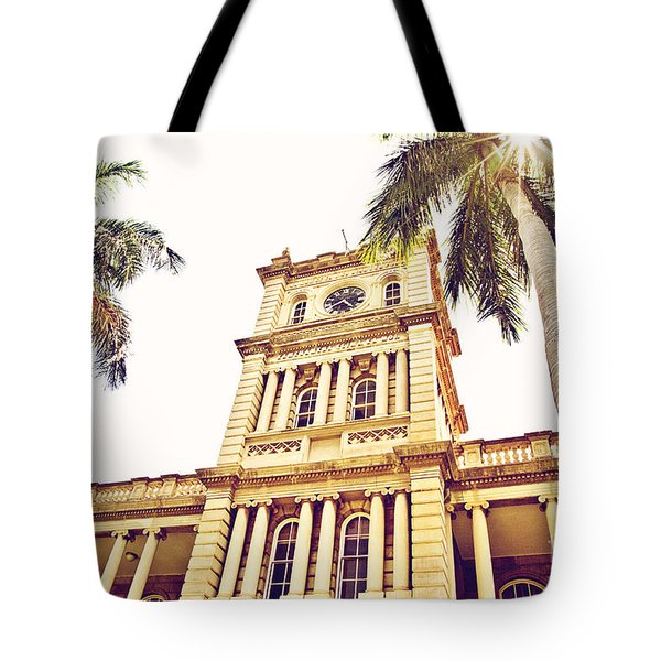 House Of Heavenly Kings Tote Bag by Scott Pellegrin