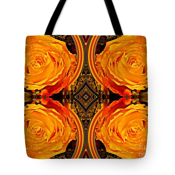House Of Roses Tote Bag