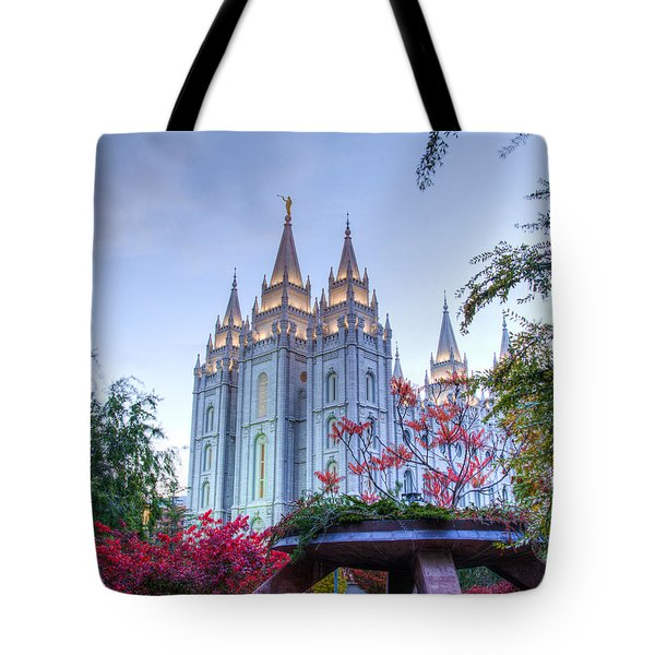 House Of The Lord Tote Bag