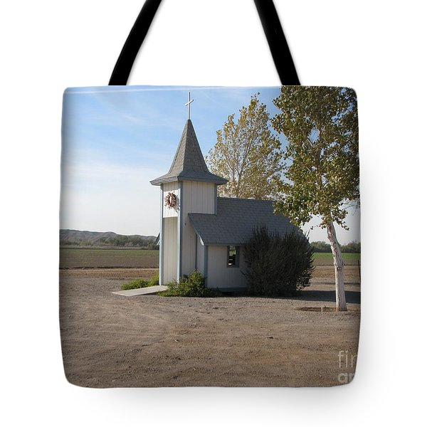 House Of The Lord Tote Bag by Greg Patzer