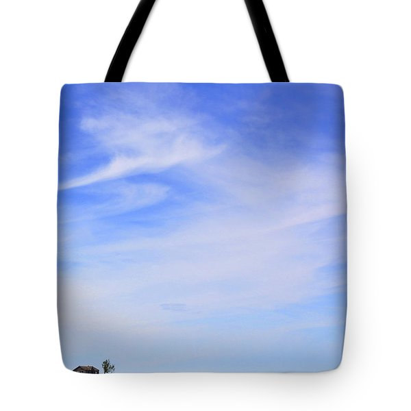 House On The Hill Tote Bag by Mike McGlothlen