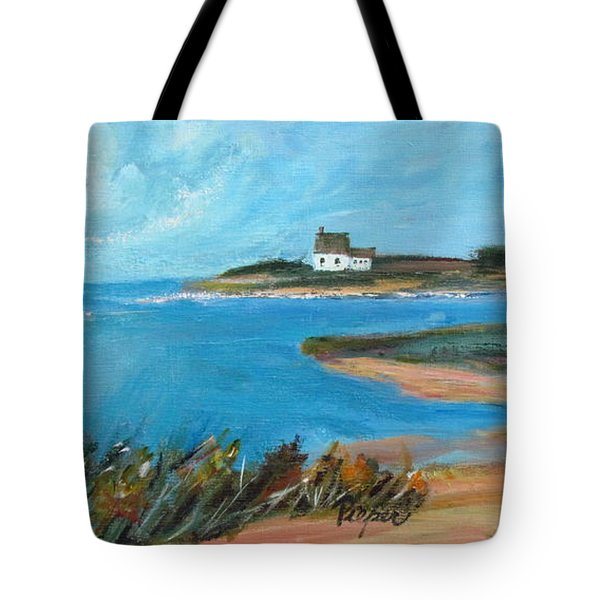 House On The Point Tote Bag
