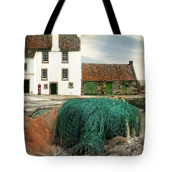 House On The Quay Tote Bag by Edmund Nagele